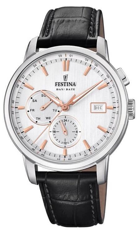 Pánske hodinky FESTINA 20280 1 Timeless Chronograph + darček zväčšiť obrázok cd3fc0b21e0