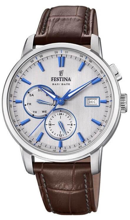 9abbee9a7 Pánske hodinky FESTINA 20280/2 Timeless Chronograph + darček zväčšiť obrázok