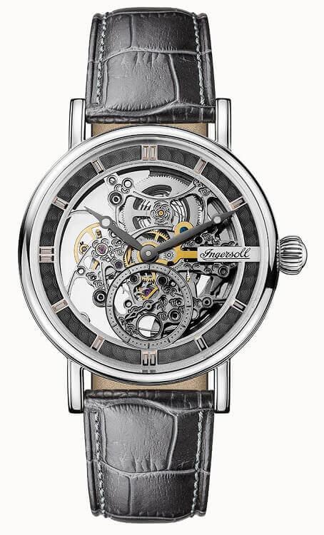 48f3e4410 Pánske hodinky INGERSOLL I00402 Herald Automatic + darček na výber zväčšiť  obrázok