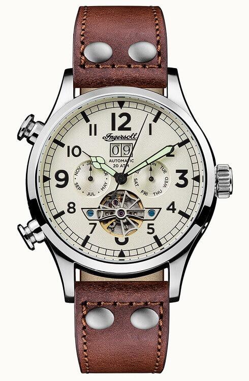 ecce24f72 Pánske hodinky INGERSOLL I02101 Armstrong Automatic + darček na výber  zväčšiť obrázok