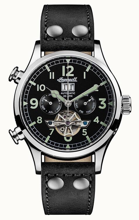 c92aa23b6 Pánske hodinky INGERSOLL I02102 Armstrong Automatic + darček na výber  zväčšiť obrázok