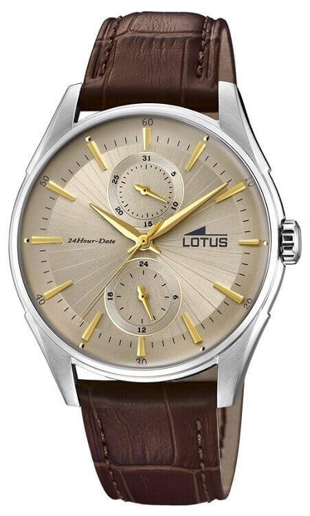 445043a11 Pánske hodinky LOTUS L18523/2 Retro + darček zväčšiť obrázok