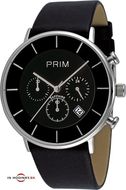 Pánske hodinky PRIM W03P.10142.D Chronograf + darček na výber