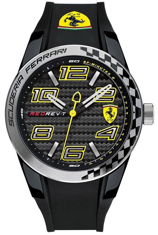 be3c9c0f0 Pánske hodinky SCUDERIA FERRARI SF0830337 Red Rev - T + darček na výber  zväčšiť obrázok