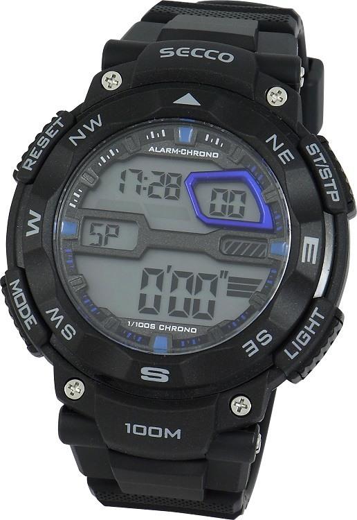 Pánske hodinky SECCO S Y242-02 + darček ca2ee1b393c
