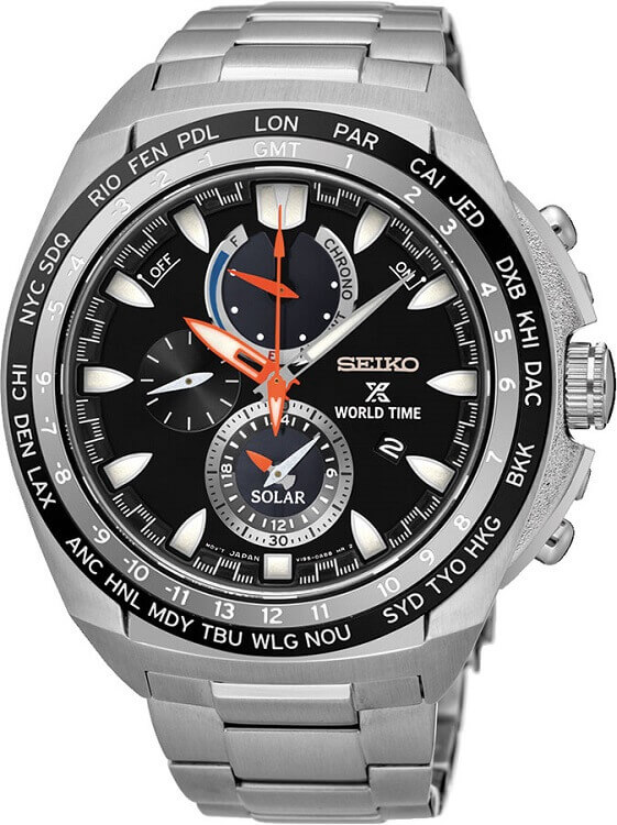 Pánske hodinky SEIKO SSC487P1 Prospex Sea Solar + darček zväčšiť obrázok 1bda064fc5c
