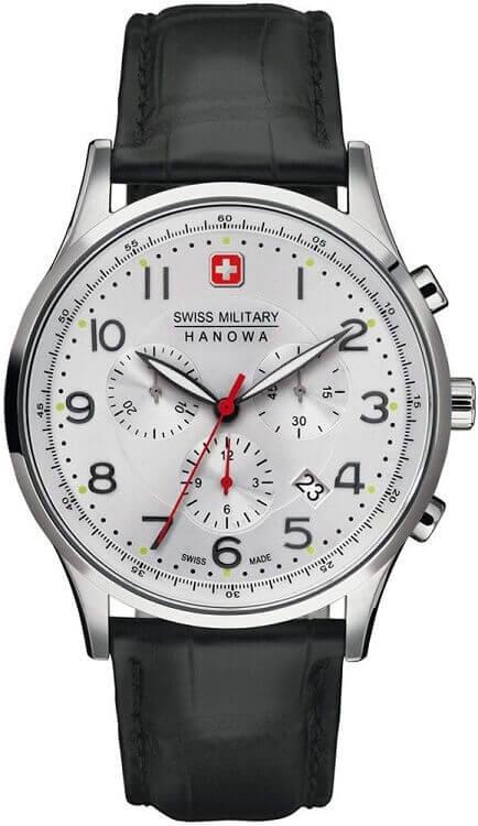 0792eb7ae Pánske hodinky Swiss Military Hanowa 4187.04.001 Patriot Chrono + darček na  výber zväčšiť obrázok