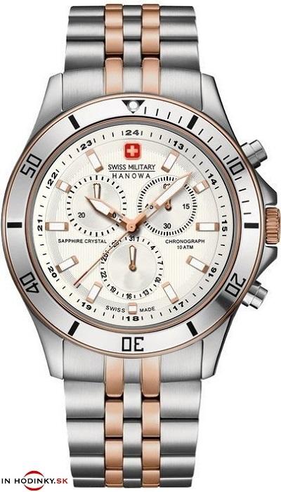ba3730ee1 Pánske hodinky Swiss Military Hanowa 5183.12.001 FLAGSHIP CHRONO + Darček v  hodnote 30 eur zväčšiť obrázok