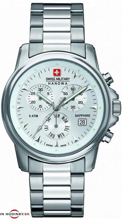 Pánske hodinky Swiss Military Hanowa 5232.04.001 + Darček v hodnote 30 eur