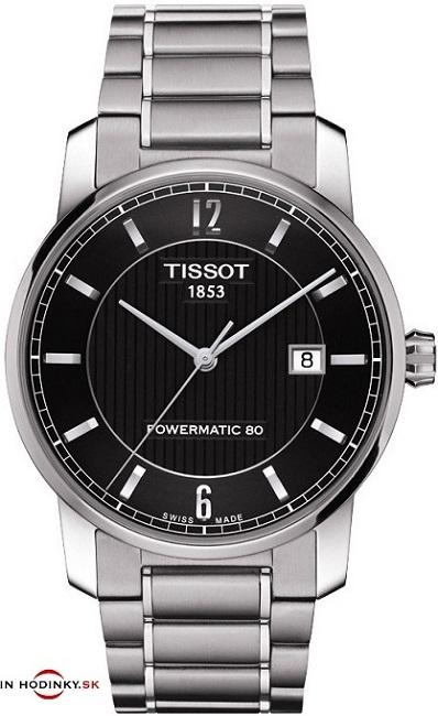 Pánske hodinky TISSOT T087.407.44.057.00 TITANIUM Automatic Gent + darček  na výber zväčšiť obrázok e5909fbb803