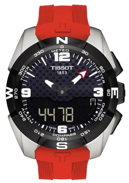 Pánske hodinky TISSOT T091.420.47.057.00 T-TOUCH Expert Solar + darček na  zväčšiť obrázok 8864758e078