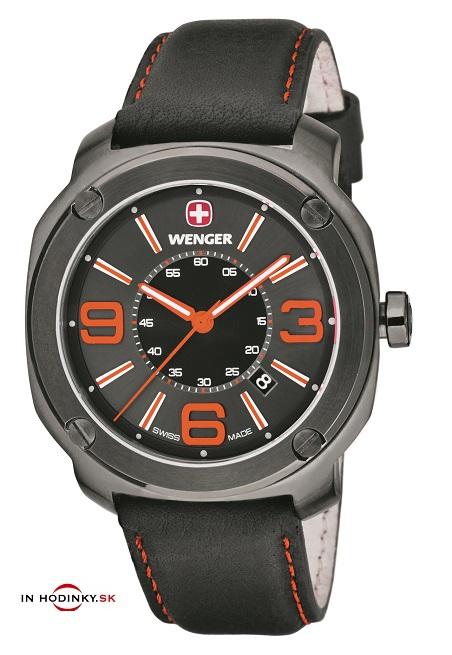 Pánske hodinky WENGER 01.1051.107 Escort + darček na výber