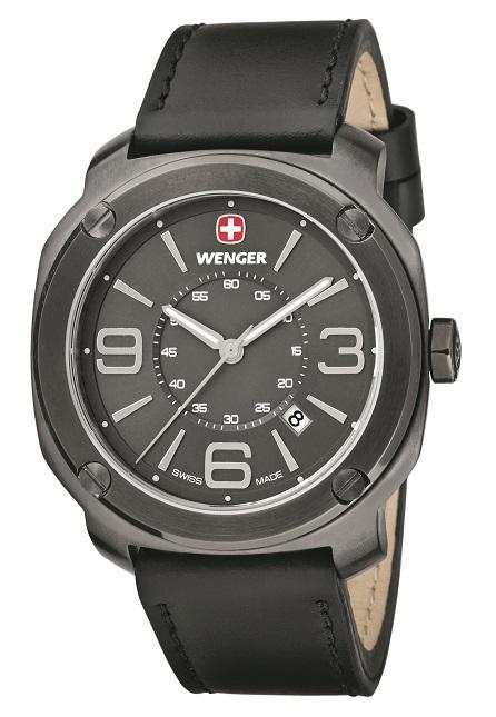 Pánske hodinky WENGER 01.1051.108 Escort + darček na výber