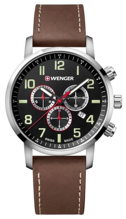 Pánske hodinky WENGER 01.1543.103 Attitude Chrono + darček zväčšiť obrázok a876dbf16d