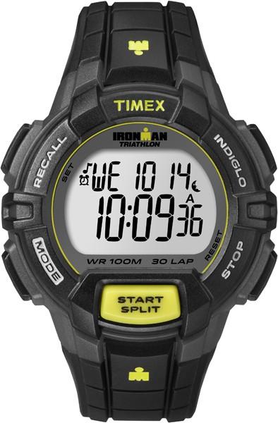 Pánske športové hodinky TIMEX T5K790 Ironman Traditional 30-Lap Rugged + darček kompas