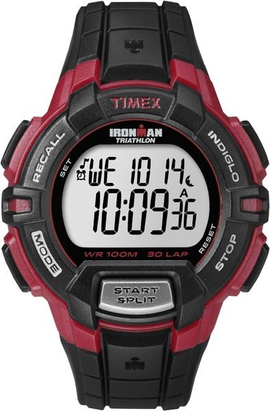Pánske športové hodinky TIMEX T5K792 Ironman Traditional 30-Lap Rugged + darček kompas