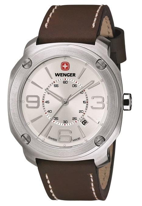 Pánske hodinky WENGER 01.1051.101 Escort + darček na výber