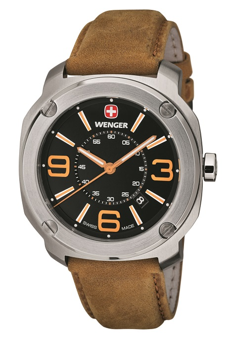 Pánske hodinky WENGER 01.1051.102 Escort + darček na výber