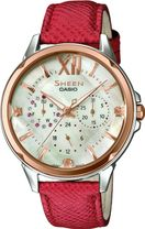 CASIO SHE 3056GL-7A SHEEN