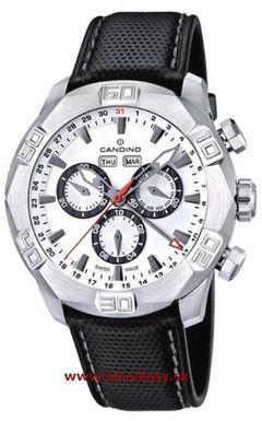 Pánske hodinky Candino C4476/1 Chronograf + darček na výber