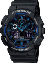 CASIO GA 100-1A2 G-Shock + Darček Meteostanica