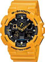 CASIO GA 100A-9A G-Shock + Darček