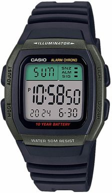 CASIO W-96H-3AVEF Collection