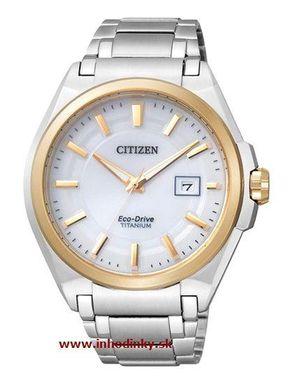 Pánske hodinky CITIZEN BM6935-53A Eco-Drive, Titanium