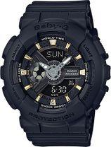 Dámske hodinky CASIO BA 110GA-1A Baby-G + darček