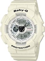 Dámske hodinky CASIO BA 110PP-7A Baby-G + darček