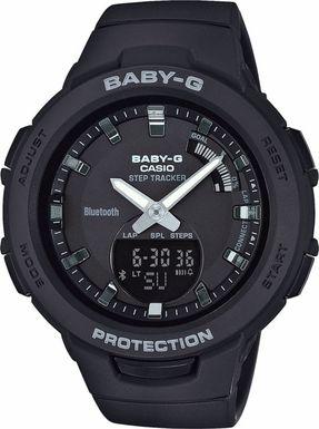 Dámske hodinky CASIO BSA B100-1A Baby-G Step Tracker, BLUETOOTH