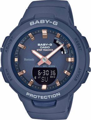 Dámske hodinky CASIO BSA B100-2A Baby-G Step Tracker, BLUETOOTH