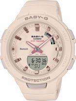 Dámske hodinky CASIO BSA B100-4A1 Baby-G Step Tracker, BLUETOOTH