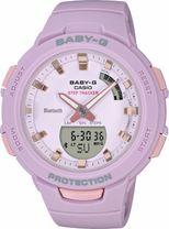 Dámske hodinky CASIO BSA B100-4A2 Baby-G Step Tracker, BLUETOOTH