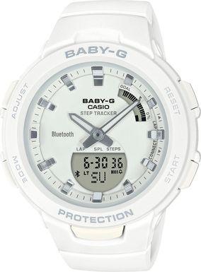 Dámske hodinky CASIO BSA B100-7A Baby-G Step Tracker, BLUETOOTH