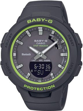 Dámske hodinky CASIO BSA-B100SC-1AER Baby-G Step Tracker, BLUETOOTH