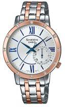 Dámske hodinky CASIO SHE 3046SGP-7B SHEEN s kryštálmi Swarovski®