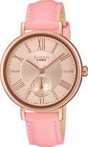 Dámske hodinky CASIO SHE 3066PGL-4A SHEEN Swarovski® Crystals