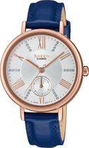 Dámske hodinky CASIO SHE 3066PGL-7A SHEEN Swarovski® Crystals