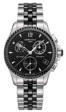Dámske hodinky Certina C030.250.11.056.00 DS First Lady Moon Phase + darček na výber