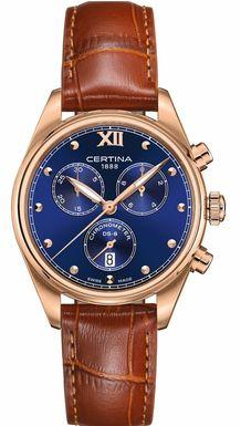Dámske hodinky CERTINA C033.234.36.048.01 DS 8 Lady Chronograph COSC.