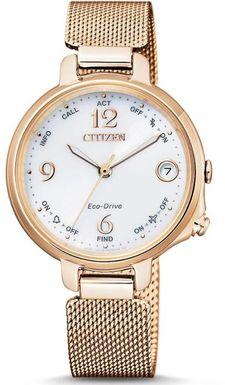 Dámske hodinky CITIZEN EE4033-87A Bluetooth