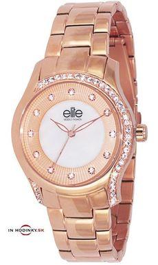 Dámske hodinky ELITE E5403,4G-812 Fashion Models + Darček na výber