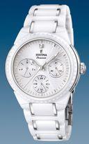 Dámske hodinky Festina Ceramic 16699/1 s multifunkčným dátumom + Darček v hodnote 30 EUR