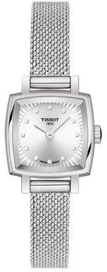Dámske hodinky TISSOT T058.109.11.036.00 LOVELY SQUARE Diamant