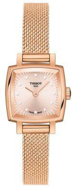 Dámske hodinky TISSOT T058.109.33.456.00 LOVELY SQUARE Diamant