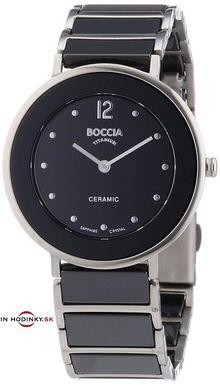 Hodinky BOCCIA 3209-03 Titanium Ceramic + Darček na výber