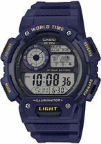 Hodinky CASIO AE-1400WH-2AVEF WORLD TIME