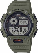 Hodinky CASIO AE-1400WH-3AVEF WORLD TIME