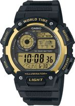 Hodinky CASIO AE 1400WH-9A WORLD TIME